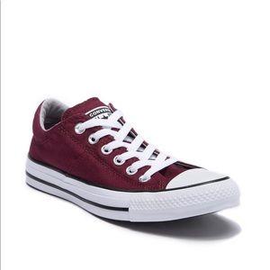 EUC Converse chuck Taylor Madison burgundy shoes 5